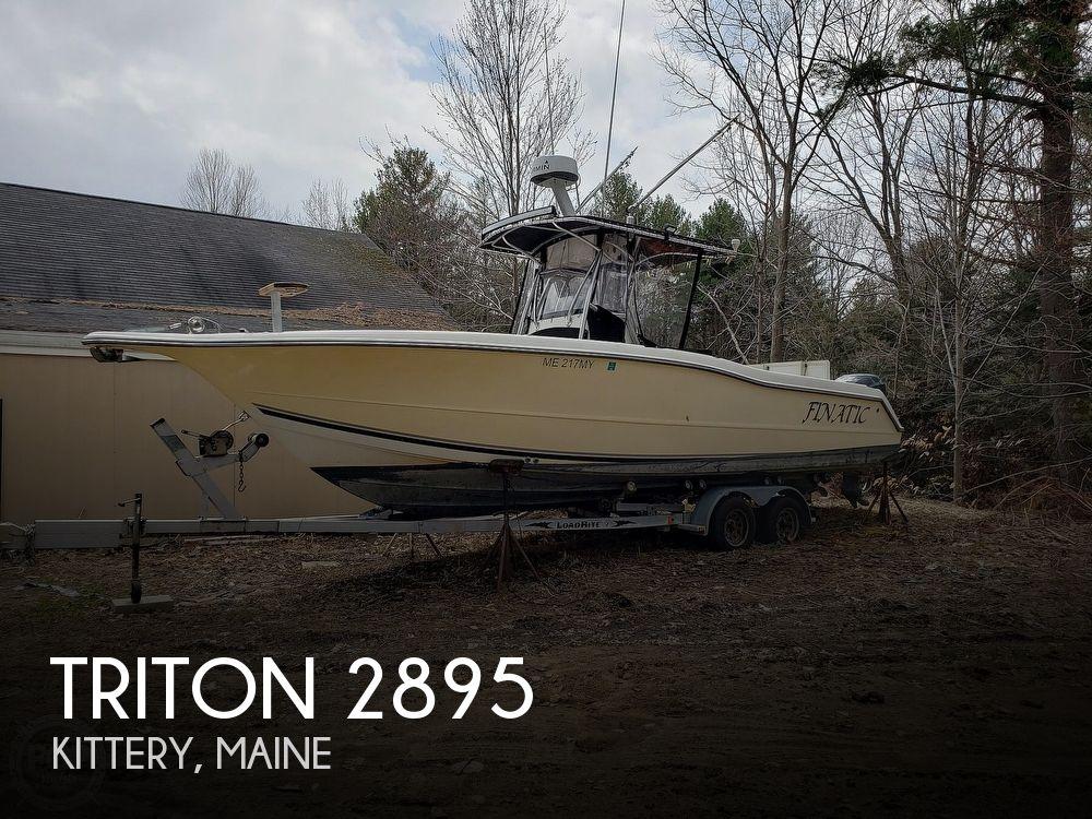 2003 TRITON 2895 for sale