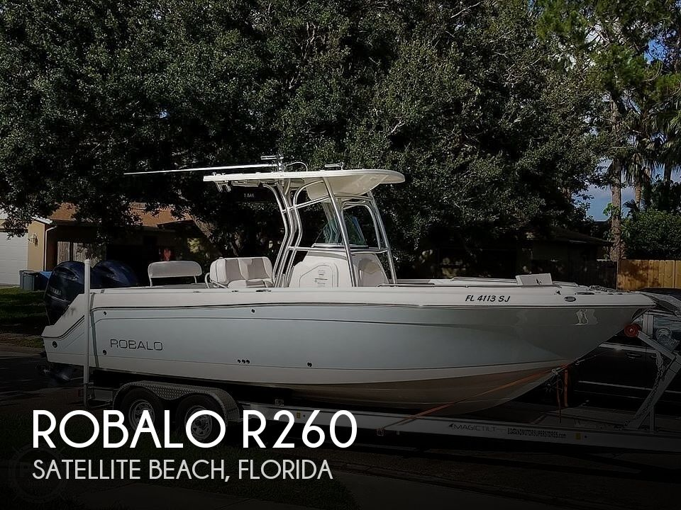 Used Boats For Sale in Deltona, Florida by owner | 2015 Robalo R260