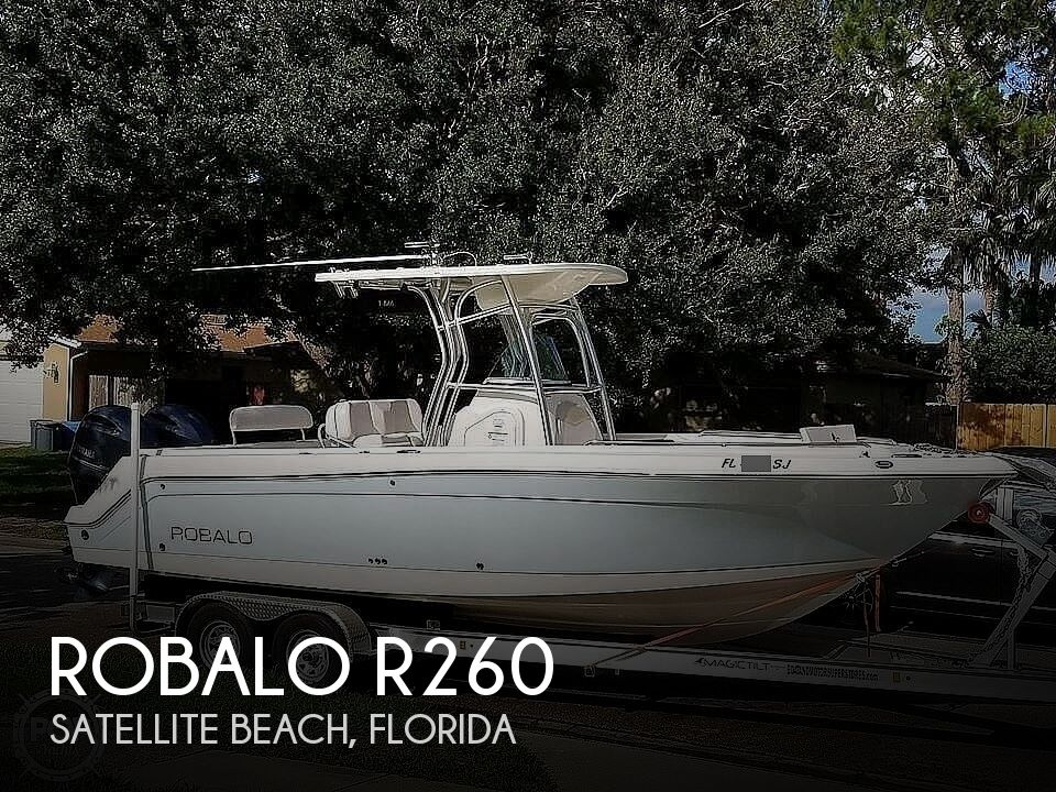2015 ROBALO R260 for sale