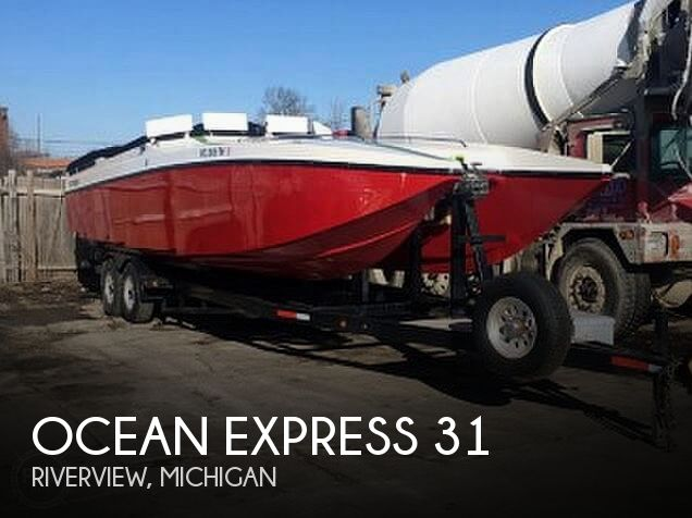 Used Ocean Express Boats For Sale in Michigan by owner | 2001 Ocean Express 31