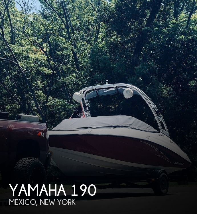 Used Ski Boats For Sale in Syracuse, New York by owner | 2016 Yamaha 190