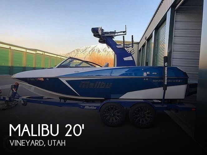 Used Boats For Sale in Salt Lake City, Utah by owner | 2017 Malibu Wakesetter VTX 20