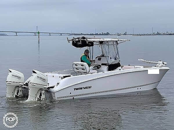 2020 Twin Vee boat for sale, model of the boat is 240 CC & Image # 2 of 6