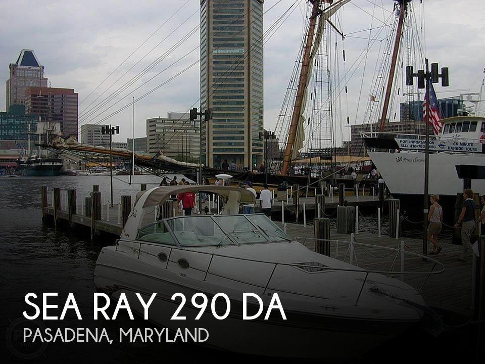 Used Sea Ray 290 da Boats For Sale by owner | 1997 Sea Ray 290 da