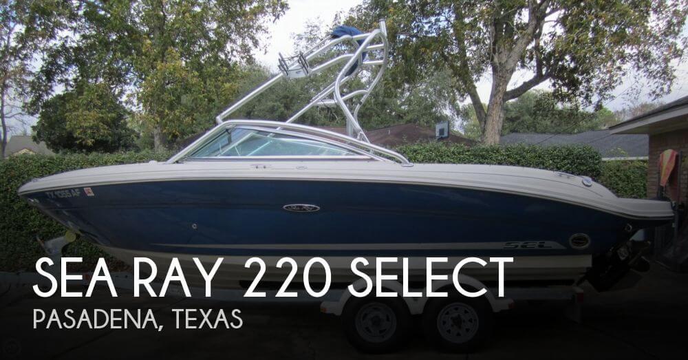 2006 Sea Ray 220 Select - Photo #1