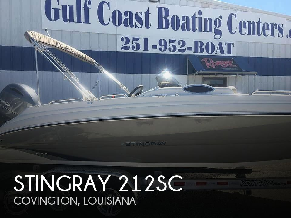 Used Stingray Deck Boats For Sale by owner | 2016 Stingray 212sc