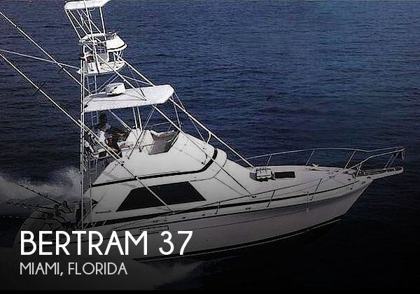 Used BERTRAM Fishing boats For Sale by owner | 1987 Bertram 37