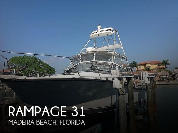 Used Rampage Boats For Sale by owner | 1988 Rampage 31