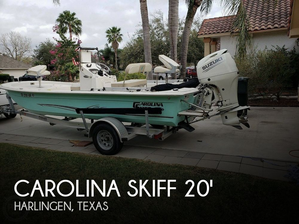 Used Boats For Sale in McAllen, Texas by owner | 2017 Carolina Skiff Jvx20cc