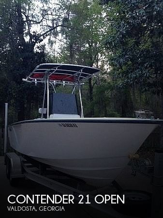 Used Boats For Sale in Tallahassee, Florida by owner | 1996 Contender 21 Open