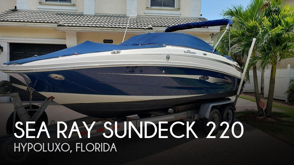 Used Sea Ray Sundeck 220 Boats For Sale by owner | 2011 Sea Ray Sundeck 220