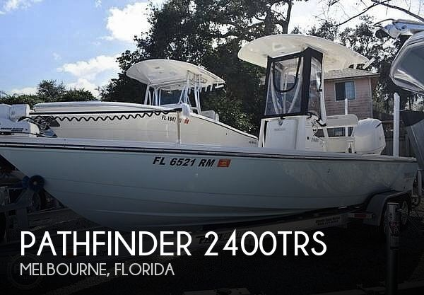 Used Pathfinder Boats For Sale by owner | 2017 Pathfinder 2400trs