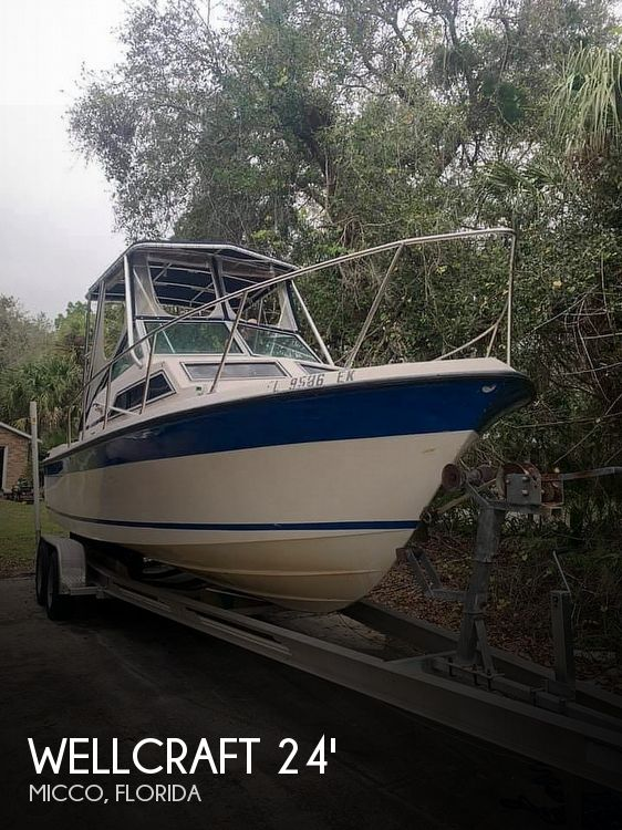 Used Wellcraft 24 Boats For Sale by owner | 1984 Wellcraft 24 Sportsman