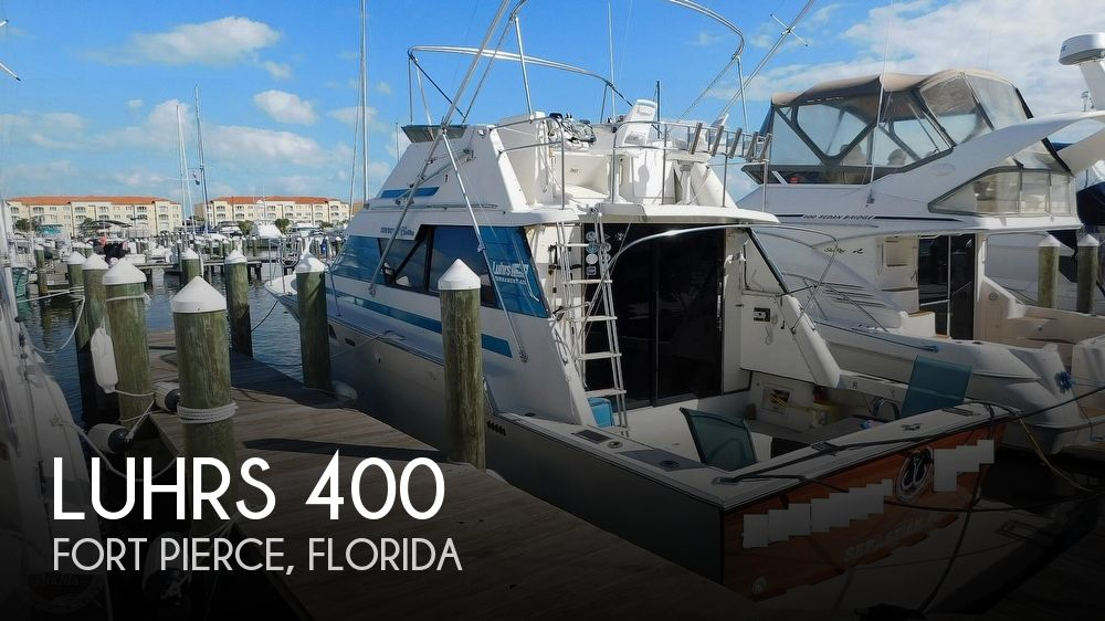 1987 Luhrs boat for sale, model of the boat is 400 Tournament & Image # 1 of 40