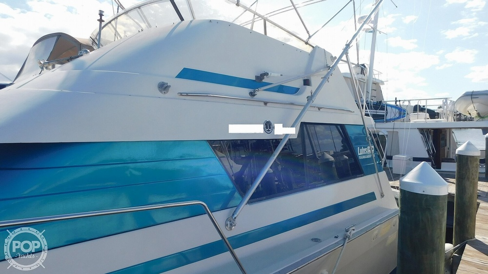 1987 Luhrs boat for sale, model of the boat is 400 Tournament & Image # 12 of 40