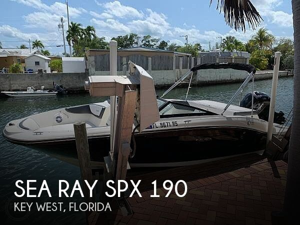 Used Sea Ray 190 Boats For Sale by owner | 2018 Sea Ray SPX 190