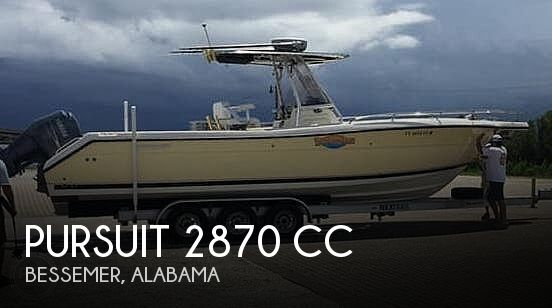 Used Boats For Sale in Birmingham, Alabama by owner | 2006 Pursuit 2870 CC