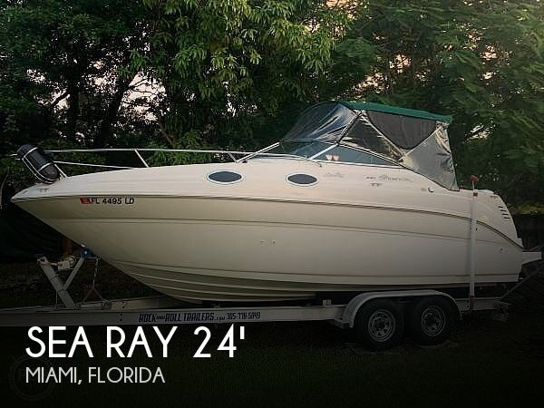 Used Sea Ray 24 Sundancer Boats For Sale by owner | 2000 Sea Ray 24 Sundancer