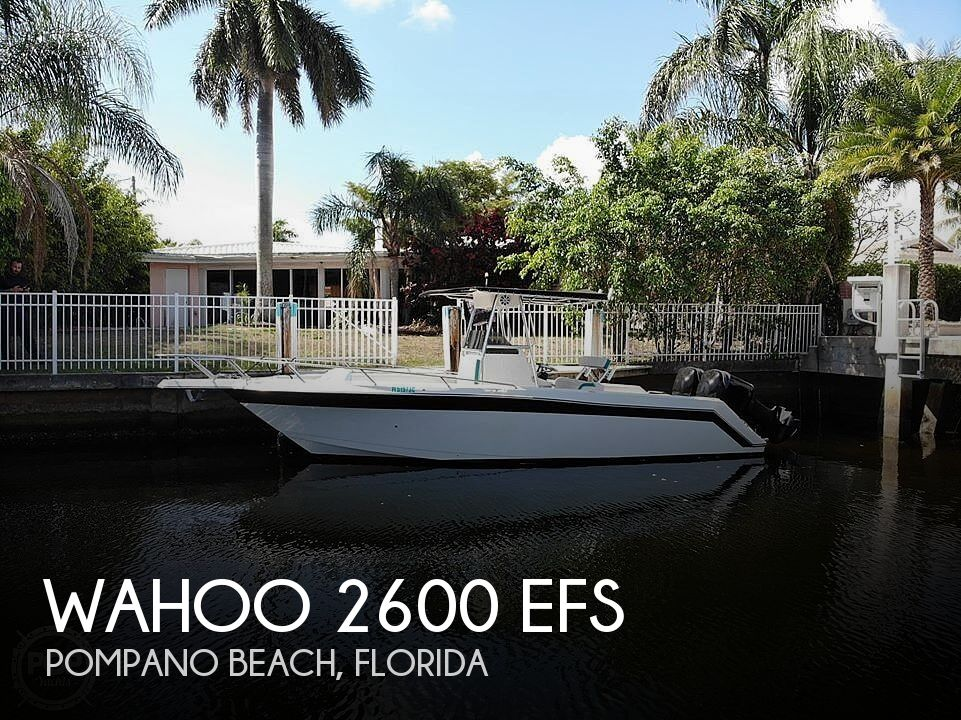 Used Wahoo Boats For Sale by owner | 1994 Wahoo 2600 EFS
