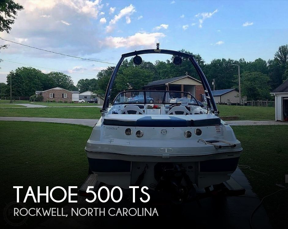 Used Tahoe Boats For Sale by owner | 2017 Tahoe 500 TS