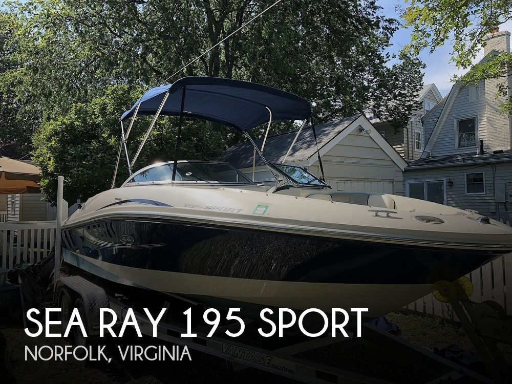 2008 SEA RAY 195 SPORT for sale
