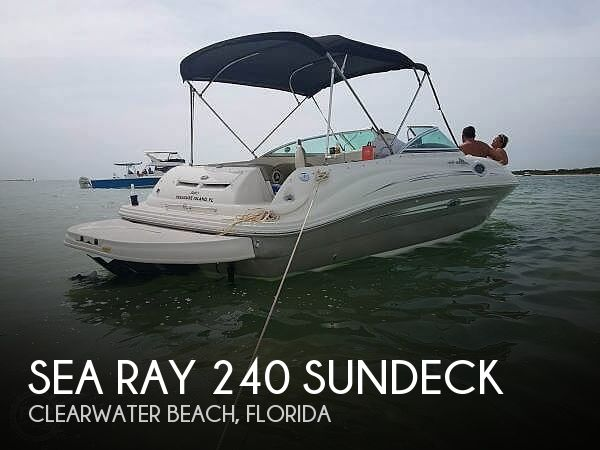 Used Sea Ray Deck Boats For Sale in Florida by owner | 2007 26 foot Sea Ray Sundeck