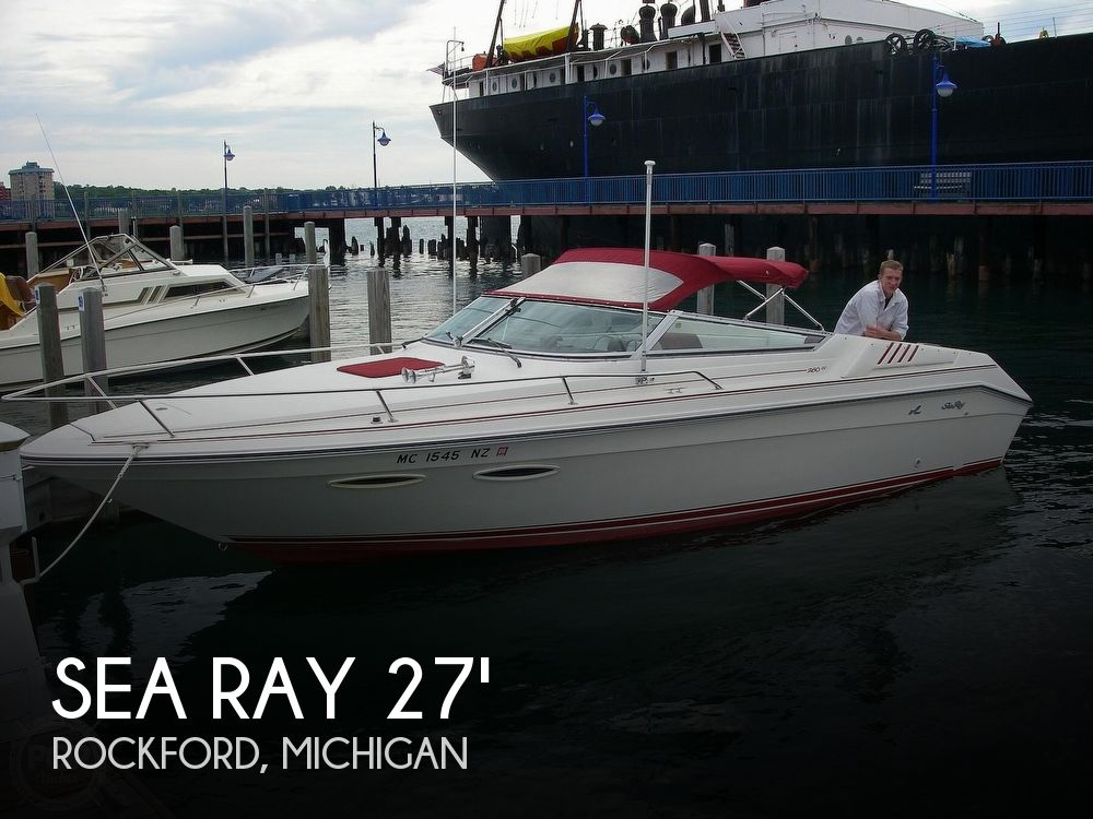 Used Sea Ray Cuddy Boats For Sale by owner | 1989 Sea Ray 260 Cuddy Cabin