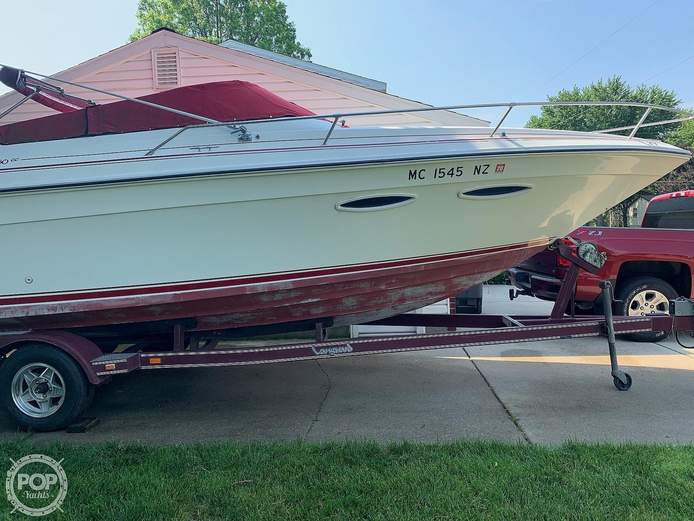 1989 Sea Ray boat for sale, model of the boat is 260 Cuddy Cabin & Image # 10 of 41