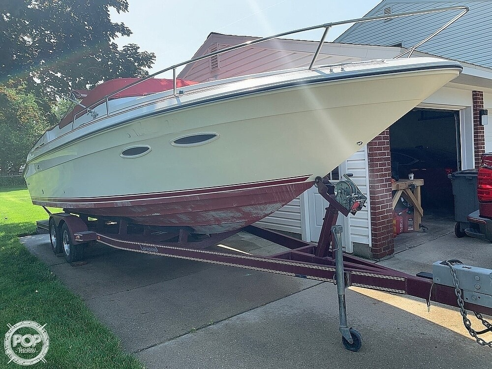 1989 Sea Ray boat for sale, model of the boat is 260 Cuddy Cabin & Image # 3 of 40