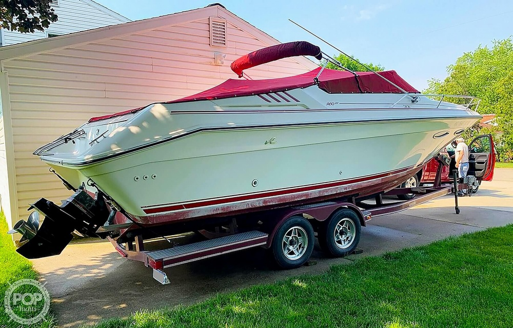 1989 Sea Ray boat for sale, model of the boat is 260 Cuddy Cabin & Image # 2 of 40