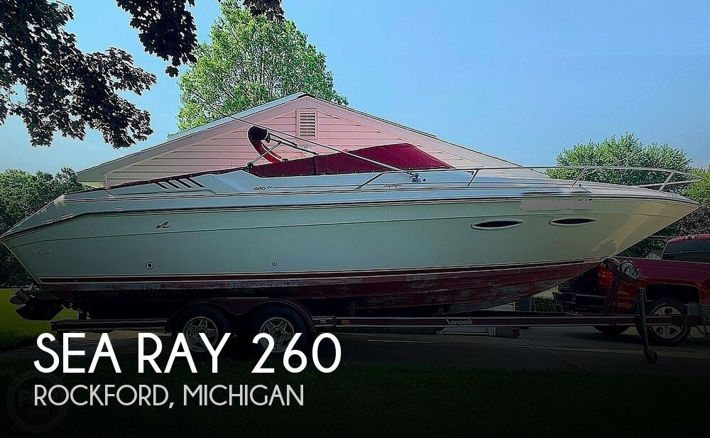 1989 Sea Ray boat for sale, model of the boat is 260 Cuddy Cabin & Image # 1 of 40