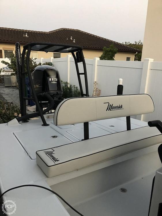 2019 Maverick boat for sale, model of the boat is Mirage 18 HPX-V & Image # 2 of 11