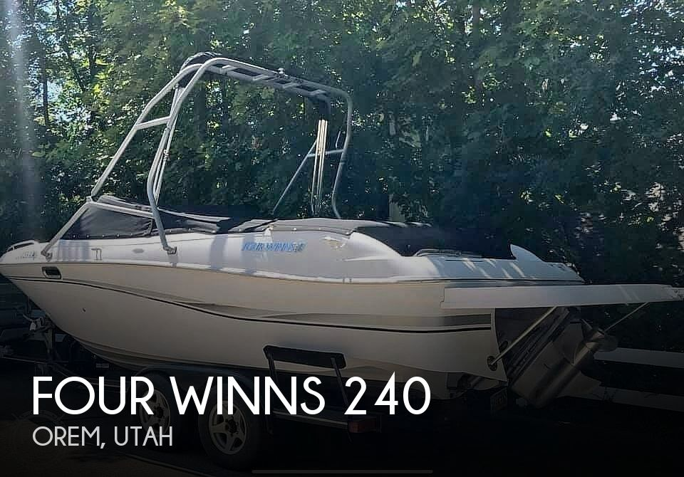 Used Four Winns 240 Boats For Sale by owner | 2002 Four Winns 240