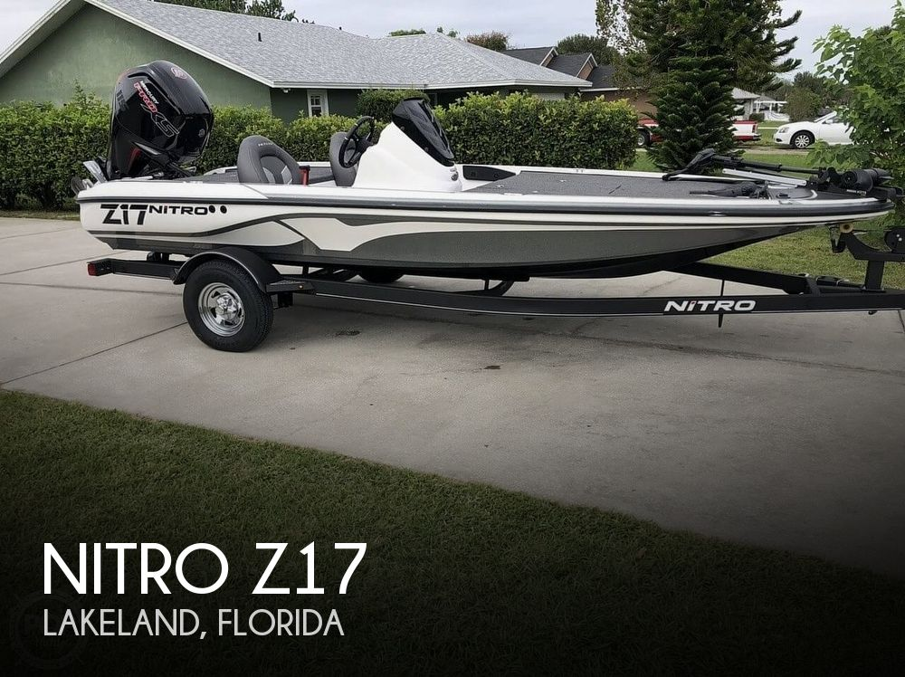Used NITRO Boats For Sale in Florida by owner | 2019 Nitro Z17