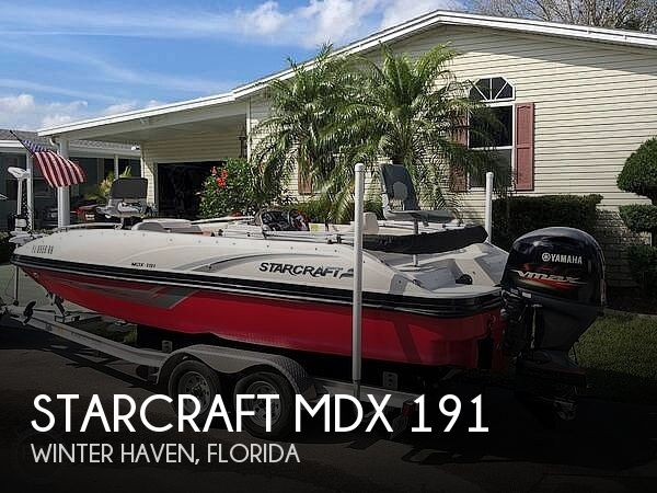 Used Starcraft Deck Boats For Sale by owner | 2018 Starcraft MDX 191
