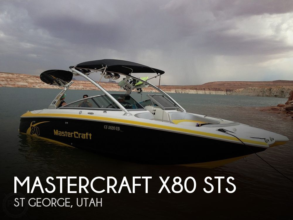 Used Boats For Sale in Utah by owner   2005 Mastercraft X80 Sts
