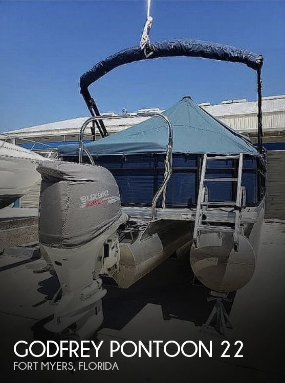 Used Pontoon Boats For Sale in Florida by owner | 2017 Godfrey Pontoon 22