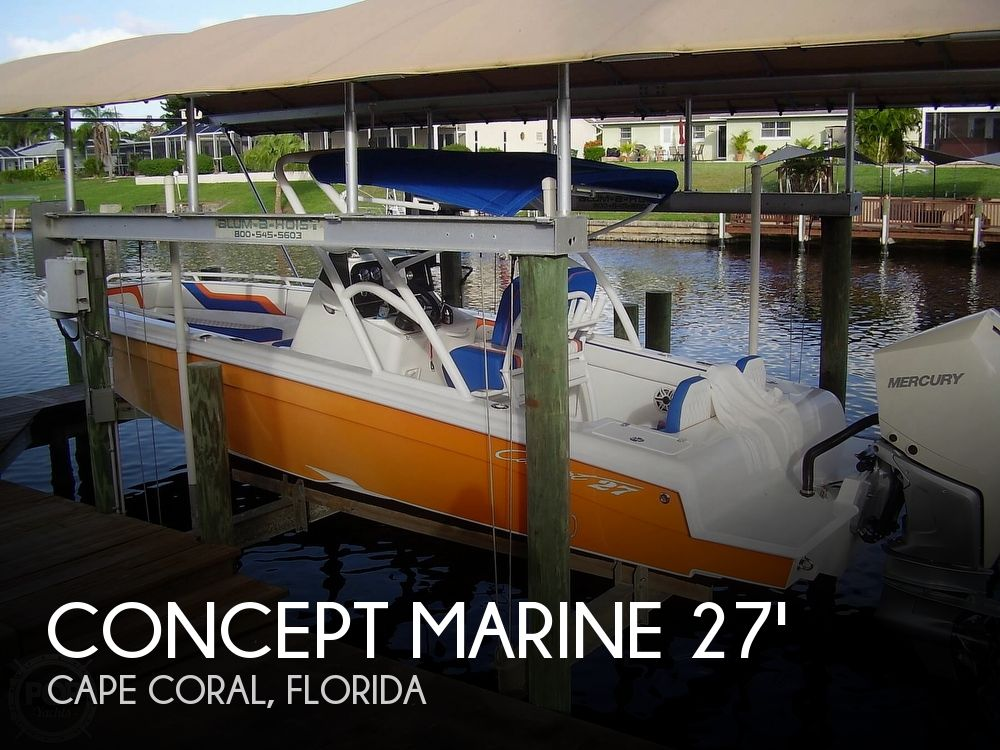 Used Concept Marine Boats For Sale by owner | 2020 Concept Marine 27