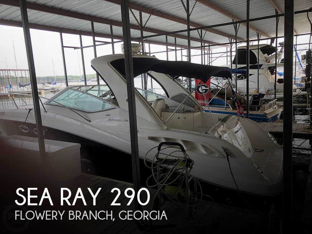 Used Sea Ray 29 Boats For Sale by owner | 2006 Sea Ray 290-Sundancer