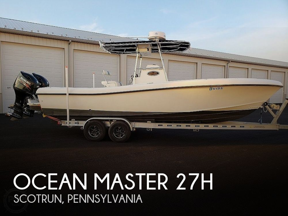 Used Boats For Sale in Reading, Pennsylvania by owner | 2004 Ocean Master 27h