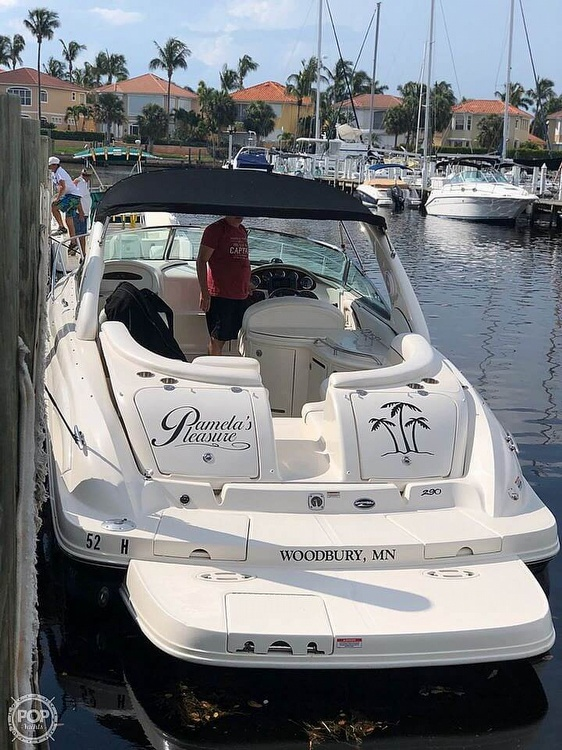 2008 Sea Ray boat for sale, model of the boat is 290 Sun Sport & Image # 2 of 40