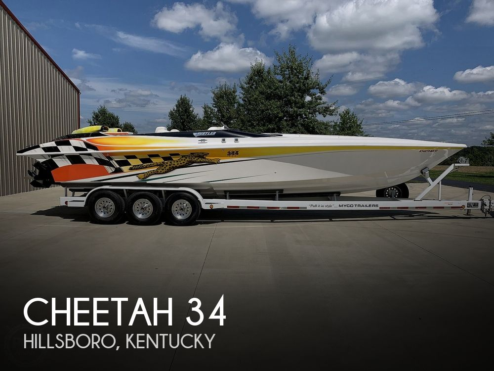 Used Boats For Sale in Cincinnati, Ohio by owner | 2001 Cheetah 34