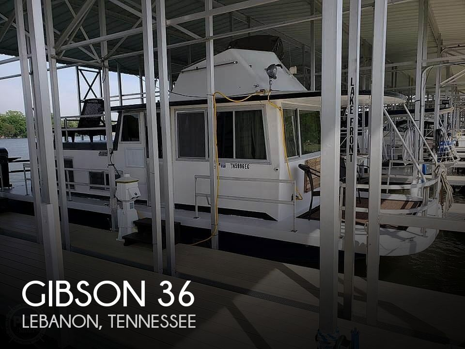 Used Houseboats For Sale in Tennessee by owner | 1971 Gibson 36