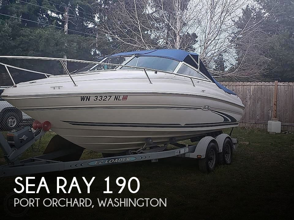Used Sea Ray Cuddy Boats For Sale by owner | 1999 Sea Ray 190 Signature Cuddy Cabin