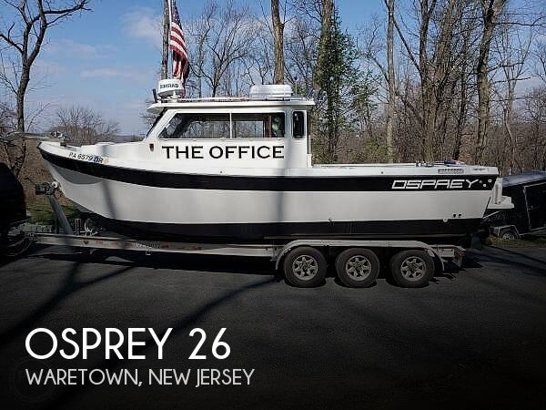 Used Osprey Boats For Sale by owner | 2005 Osprey 26