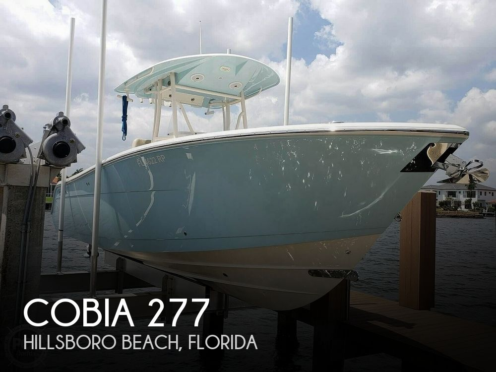 Used Cobia Boats For Sale by owner | 2018 Cobia 277