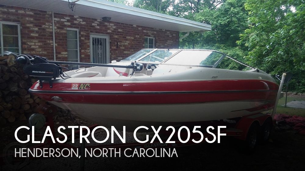 2004 GLASTRON GX205SF for sale