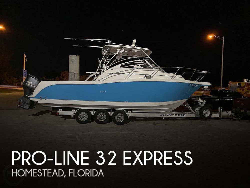 Used Pro-Line Boats For Sale by owner | 2005 Pro-Line 32 Express