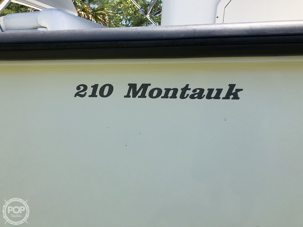 2017 Boston Whaler boat for sale, model of the boat is 210 Montauk & Image # 26 of 40