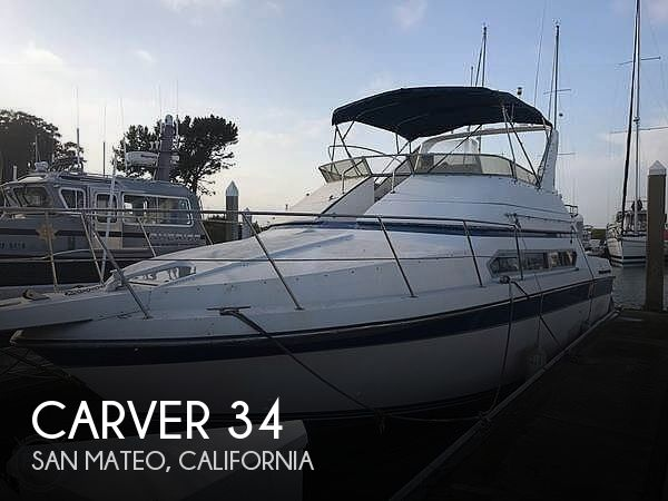 Used Carver Boats For Sale in California by owner | 1989 Carver 34